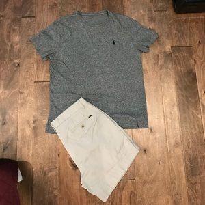 Polo Ralph Lauren classic fit t shirt gray SZ M